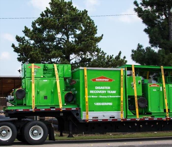 Commercial  A Very Large dehumidifier From Greater Boulder SERVPRO